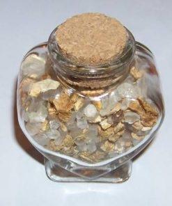 Sticluta cu sare de baie - plante aromate
