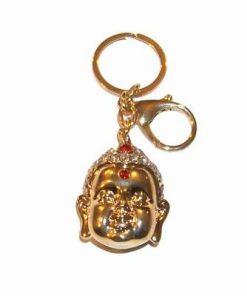 Breloc auriu cu Buddha al Medicinei