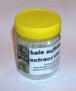 Sare de baie sulfiodurata cu extract de ulei de brad