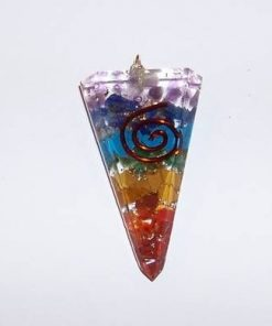 Orgon Reiki cu cristale - pandantiv