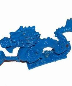 Dragonul  albastru cu perla dorintei