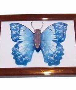 Tablou 3D Feng Shui cu fluturele prosperitatii