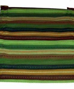 Servetel de masa multicolor - rosu/mov