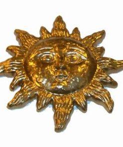 Soare auriu din ceramica