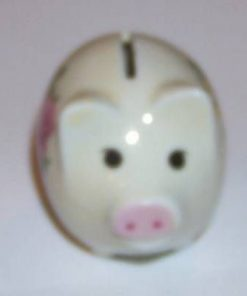 Mini-pusculita Feng Shui in forma de purcelus