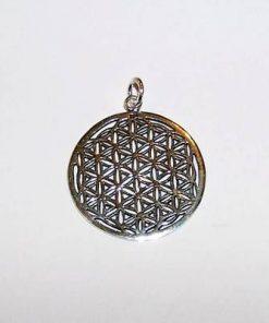 Floarea Vietii - pandantiv unisex din argint
