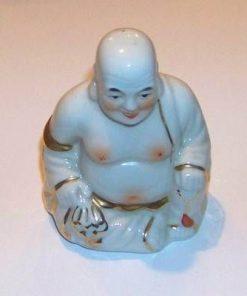 Buddha din portelan cu sacul bogatiei