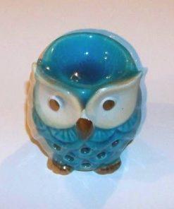 Vas de aromaterapie - Bufnita - albastru