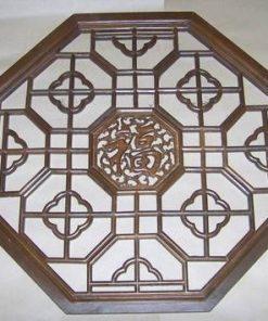 Tablou XXL din lemn, lucrat manual cu ideograma norocului