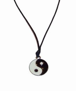 Pandantiv Yin-Yang din metal nobil