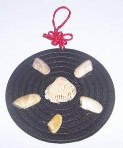 Minitablou Feng Shui cu scoici pentru dragoste