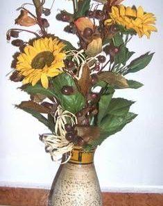 Aranjament floral Feng Shui - floarea soarelui