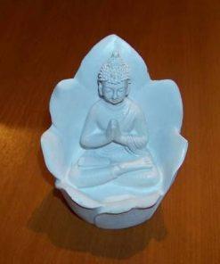 Buddha al meditatiei in floare de lotus