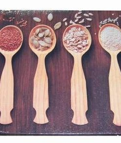 Tablou Feng Shui pentru bucatarie cu seminte si linguri