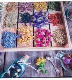 Tablou Feng Shui pentru bucatarie cu ierburi