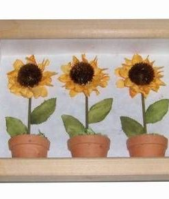 Tablou 3D cu floarea soarelui