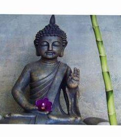 Tablou Feng Shi cu Buddha al Medicinei si bambus