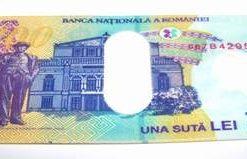Portofel Feng Shui 2021 sub forma de bancnota - 100 lei