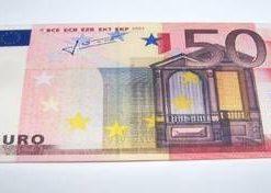 Portofel Feng Shui 2021 sub forma de bancnota - 50 Euro