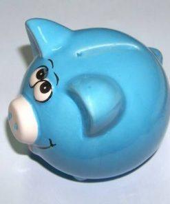 Porcusor din ceramica - albastru