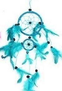 Prinzator de vise Feng Shui albastru-turcoaz - mare