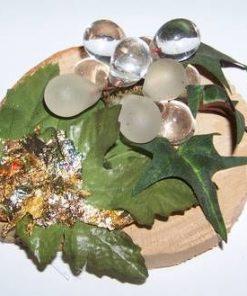 Strugure din cristal de stanca - ornament stilizat
