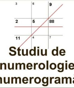 Studiu de numerologie - numerograma