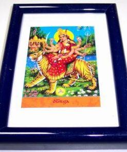 Tablou Feng Shui cu zeita Durga - unicat !