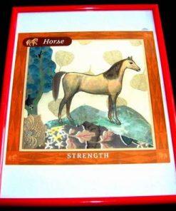 Tablou Feng Shui cu animalul norocos - Cal