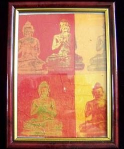 Tablou Feng Shui cu Buddha meditand