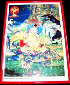 Tablou Feng Shui cu mantra de protectie - unicat!