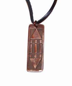Pandantiv din cupru cu simbolul Luxor / Atlantida -