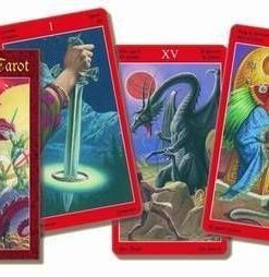 Dragon Tarot - Tarotul dragonilor - 78 carti - tradus mic